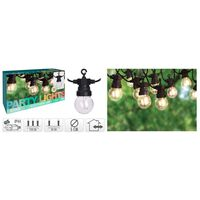 ProGarden Guirlande lumineuse de jardin 20 ampoules LED 24 V