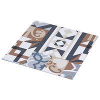 vidaXL Planche de plancher autoadhésif PVC 5,11 m² Motif mono