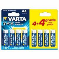 Alcaline Lr6/Aa, 1.5 V Pack Promo 4 + 4 Pcs 4906.121.448 (Blister)