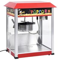 vidaXL Machine à pop-corn avec pot de cuisson en téflon 1400 W