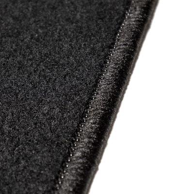 vidaXL Ensemble de tapis de voiture 4 pcs pour Peugeot 207