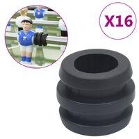 vidaXL Butées de tige de baby-foot pour tige de 15,9/16 mm 16 pcs