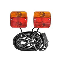 Kit d'éclairage magnétique pour remorque 7,5 + 2,5 m ProPlus 330418