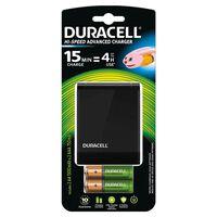 Duracell Chargeur de piles Hi-Speed 15 min CEF27