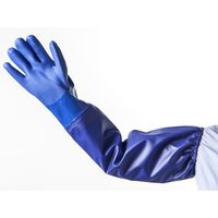 HEISSNER Gant d'étang L Bleu