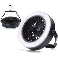 Ventilateur 2 en 1 avec éclairage LED - Ventilateur de table
