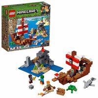 LEGO, Minecraft - L'aventure du bateau pirate