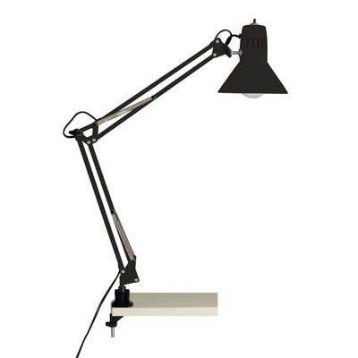 Lampe de bureau en métal noir HOBBY