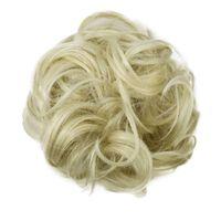 Chouchou aux cheveux synthétiques - blond