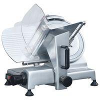 vidaXL Trancheur à viande électrique professionnel 220 mm