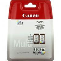 CANON Pack 2 Cartouches PG-545 / CL 546 - Noir + Couleur