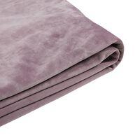 Revêtement rose pour cadre de lit 180x200 cm FITOU