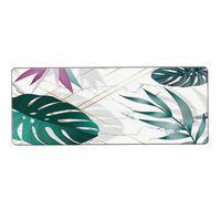 Tapis de souris Extra Large Vert Blanc (30x70)