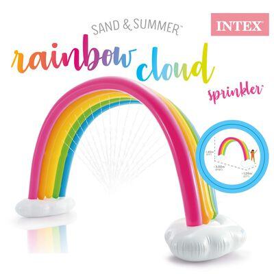 Intex Arroseur nuages arc-en-ciel Multicolore 300x109x180 cm