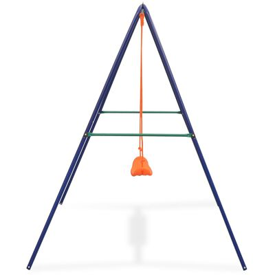 vidaXL Balançoire simple Orange,