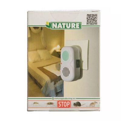 Nature Répulsif électrique à ultrasons de rats / d'insectes 25 m²