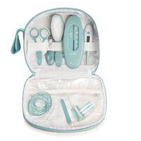 Babymoov Kit de soin pour bébés Aqua 9 pcs Gris et bleu