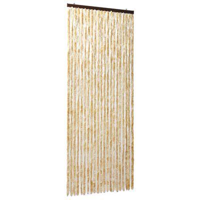 vidaXL Moustiquaire Beige 90x220 cm Chenille