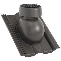 vidaXL Ventilateur de toit Anthracite