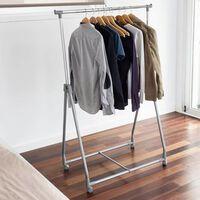 Storage solutions Porte-vêtements 4 roues Métal