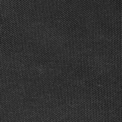 vidaXL Parasol en tissu Oxford triangulaire 5x5x5 m Anthracite