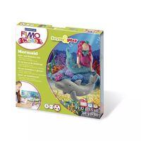 Kit Pâte Fimo Kids Sirène 8034.12 ly - Fimo