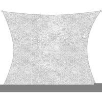 Toile D'ombrage Camouflage - Ecran Solaire - 2 X 3m - Blanc
