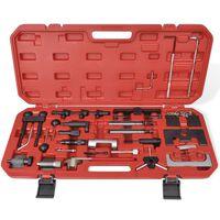 vidaXL Kit d'outils de réglage pour voiture diesel et à essence