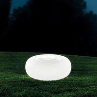 Intex Pouf à LED 86x33 cm