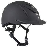 HORKA Casque d'équitation Condor Strass Taille XS/S Noir 110505-0002