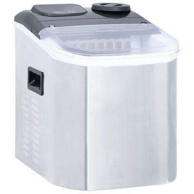 vidaXL Machine à glaçons Acier inoxydable 20 kg/24 h