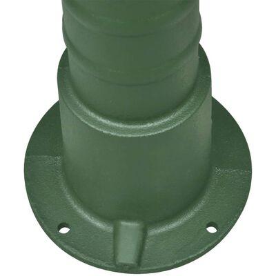 vidaXL Support en fonte pour pompe à eau manuelle de jardin