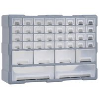 vidaXL Organisateur multi-tiroirs avec 40 tiroirs 52x16x37,5 cm