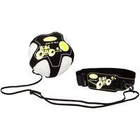 Get & Go Accessoire d'entraînement pour football Noir et jaune
