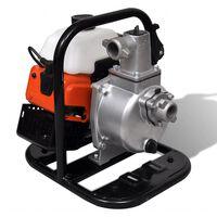 vidaXL Pompe à eau à 2 temps à essence 1,2 kW 0,95 L