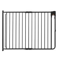 A3 Baby & Kids Barrière de sécurité SafeDoor Noir 75,5-116 cm