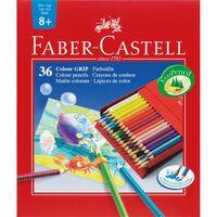 Faber Castell FC 112436 GRIP Studiobox A Crayon 36 Pièces