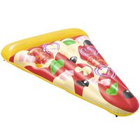 Bestway Chaise longue flottante Pizza Party 188 x 130 cm