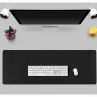 Tapis de souris extra large pour gaming noir (30x80)
