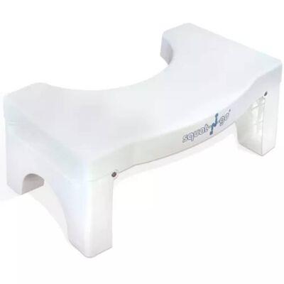 Squat-n-Go Tabouret de toilette blanc SQG002