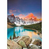 Puzzle 1000 pièces : Lac Moraine, Banff National parc, Canada