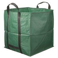 Nature Sac à déchets de jardin carré Vert 325 L 6072401