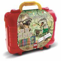 Dinosaures Couleur Case et kit timbre 29 pièces