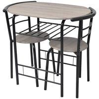vidaXL Ensemble de meuble pour salle à manger MDF