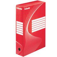 Esselte Boîte à fichiers 25 pcs Rouge 80 mm