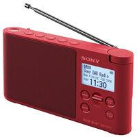 Radio Portable Numérique Rouge - Xdrs41dbp Rouge