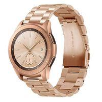 Bracelet pour Samsung Galaxy Watch 42 mm, Gear Sport, Gear S2 - or ros