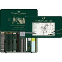 Faber Castell FC-112 974 Grafietset Faber-Castell Pitt 26 pièces