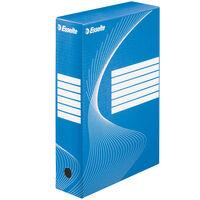 Esselte Boîte à fichiers 25 pcs Bleu 80 mm