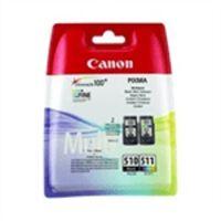CANON Pack 2 Cartouches PG-510 / CL-511 - Noir + Couleur
